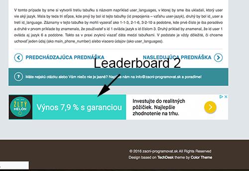 Uverejním banner na webe ZačniProgramovať.sk